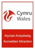 Visit Wales Accredited Attraction Logo