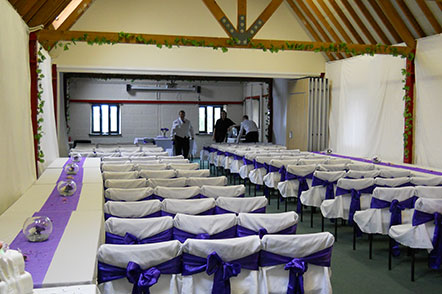 Conferences & Private Hire - Wedding