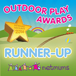 Netmums Outdoor Play Awards Runner-up