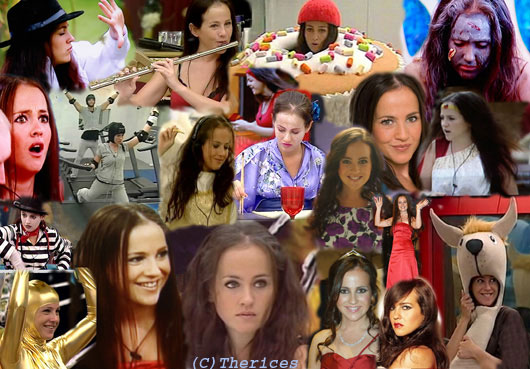 Montage of images of Rachel
