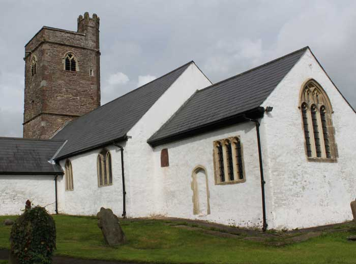 Image of St Peter's Church Henllys