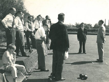 Opening of Bowls Club in 1961